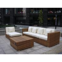 Buy cheap Indoor / Outdoor Rattan Furniture , Cane Corner Sofa For Meeting Room from wholesalers