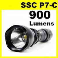 Buy cheap Ultra-Bright SSC P7-C 900 Lumen LED Flashlight Torch Assault Crown police torch security torch from wholesalers