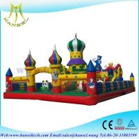 Buy cheap Hansel Colourful Christmas commercial inflatable Water slide With Waterproof PVC from wholesalers
