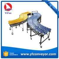Buy cheap Flexible Expandable Gravity Plastic Skate Wheel Conveyor from wholesalers