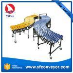 Buy cheap Flexible Expandable Gravity Plastic Skate Wheel Conveyor from wholesalers