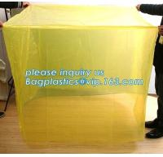 Buy cheap LDPE 100mic clear plastic anti aging UV resistant dust proof waterproof reusable pallet cover, Dust proof Waterproof Pla from wholesalers