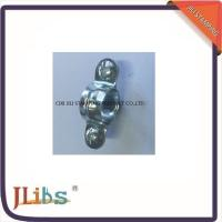 Buy cheap Single Pipe Clamps M7 Without Rubber White Zinc Galvanize Metal Tube Clamps from wholesalers