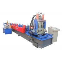 Buy cheap Interchangeable CZ Purlin Roll Forming Machine Working Speed 20-25 M/Min from wholesalers