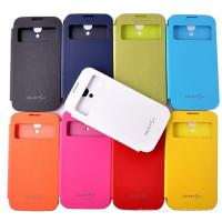 Buy cheap Samsung S4 i9500 leather flip case , Removable back cover product