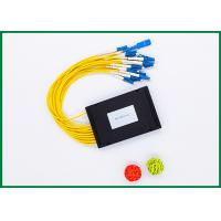 Buy cheap 1x16 Passive Fibre Optic Cable Splitter ABS Box Module For EPON / GPON , GR-1209 Standard from wholesalers