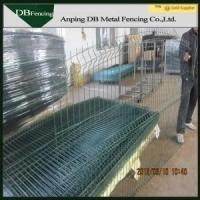 Buy cheap PVC coated security wire mesh iron fence gate from wholesalers