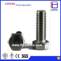 Buy cheap M14 Stainless Steel Bolt And Nut Stud Bolt And Nut from wholesalers