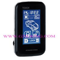Buy cheap New FSK 5000M wholesale Touch Screen OLED screen  two Way Car Alarm system product