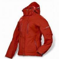 Buy cheap Ski Jacket with Water-resistant Zipper, Made of 320D Taslan, with PU Coating from wholesalers