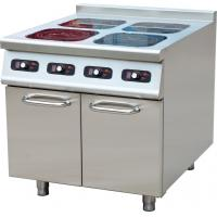 Floor Standing 4 Zone Induction Hob , 4 Burner Gas Hob For Catering Equipment