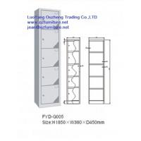 Buy cheap steel locker FYD-G005,Iron locker FYD-G005 H1850XW380XD450mm,with 5 lock and vent hole from wholesalers