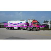 Buy cheap Volume 60m3 , 3 Axles Fly Ash Tank Semi Trailer Trucks With ABS , Rated Loading 33000kgs from wholesalers