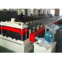 Buy cheap 22KW Steel Deck Roll Forming Machine , Corrugated Metal Deck Forming Machine from wholesalers