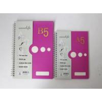 Buy cheap Double Spiral PP Cover Notebook 4 from wholesalers