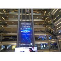 China Full Color Transparent Video Glass Screen Smooth Displaying Good Heat Dissipation on sale