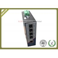 Buy cheap 10/100M Railed Optical Media Converter Unmanaged Industrial Switch With 5 RJ45 Ethernet Port from wholesalers