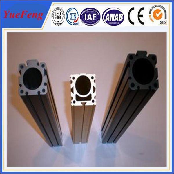 Quality Aluminium alloy extrusion column design with powder coat finish in white(black) for sale