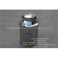 Buy cheap 40L Liquid Thermal Insulation Milk Bucket , Stainless Steel Milk Can from wholesalers