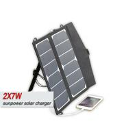 Buy cheap Sungold 14w Portable 12V Solar PanelFor RV , 12 Volt Solar Charger Waterproof product