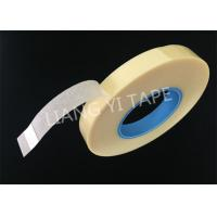 Buy cheap Polyester Film Non Woven Fabric Tape , Rubber Adhesive Yellow Insulation Tape from wholesalers