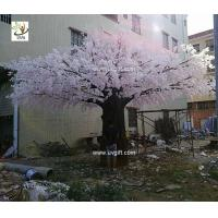 Buy cheap UVG luxury wedding decoration design in huge artificial cherry blossom trees for photography backdrops CHR174 from wholesalers