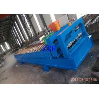 Buy cheap Servo Motor Roofing Corrugated Sheet Roll Forming Machine Hydraulic Pillar Cutting product