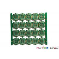 Buy cheap Controller Printed Circuit Board PCB 4 Layers 1.2mm Thickness ENIG Surface Treatment product