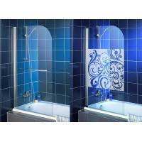 Buy cheap High Purity Clear Bath Shower Screen , Single Tempered Glass Panel from wholesalers