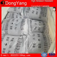 Buy cheap Refractory Castable Refractory Material Refractory High Abrasion Resistant Corundum Castable from wholesalers