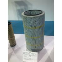 Buy cheap Pleated cartridge filter for industrial pluse jet from wholesalers