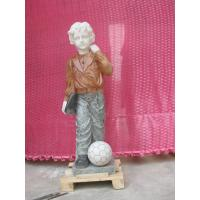 Buy cheap Child marble sculpture from wholesalers