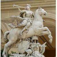 Buy cheap Man with horse marble sculpture from wholesalers