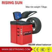 China Automatic car wheel balancing equipment tire garage machine for sale on sale