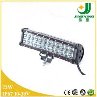 Buy cheap Excellent 9-32v 12 inch 5700lum 72w cree semi truck led light bar from wholesalers