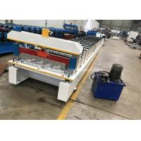 Buy cheap 3.8t Metal Roof Machine With Plc Frequency Conversion Control System from wholesalers