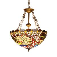 Buy cheap Tiffany inverted pendant ceiling lights for indoor home Lighting Fixtures (WH-TF-09) from wholesalers