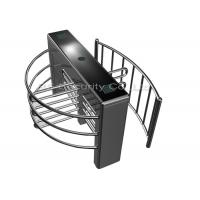 Buy cheap Automated Full Height Turnstiles Gates, Card Reader Turnstile System from wholesalers