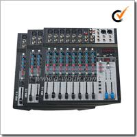 Buy cheap Hot Sale 3-band EQ CLIP LED 10 Channles Mixer Professional Mixing Console (AMS-B10EFF) from wholesalers