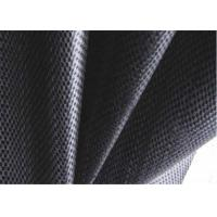 Buy cheap PP Black Woven Geotextile , Soil Stabilization Fabric For Suppressing Weed product