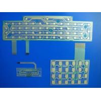 Buy cheap Keyboard Printed Circuit Flexible PCB Board Custom With Metal Dome / LED from wholesalers