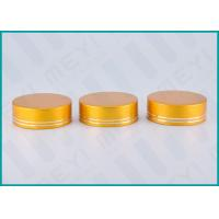 Buy cheap Matt Gold Lined Aluminum Screw Top Caps 38/410 For Health Care Products Containers from wholesalers