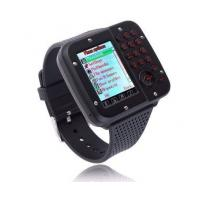 Buy cheap Popular waterproof Black / Silver / Rose Gold wrist watch phone with MTK 6253 CPU from wholesalers
