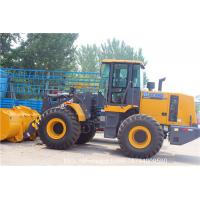 Buy cheap Yellow Compact Wheel Loader LW500KL / 3 m³  17.4t Tipping Load 110KN car loader from wholesalers