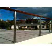 Buy cheap Removeable Stainless Steel Cable Deck Railing , Customized Stainless Steel Balustrade Systems from wholesalers