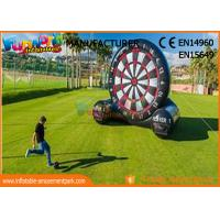 Buy cheap School Or Backyard Inflatable Sports Games / Inflatable Soccer Dart Board from wholesalers