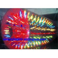 Buy cheap Inflatable Water Roller Zorbing Balls For Hire , Roll Inside Inflatable Ball from wholesalers