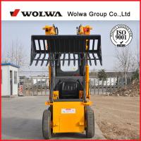 Buy cheap same configuration 1.5ton KUBOTA engine skid steer loader mini loader different skid steer attachments available from wholesalers