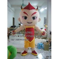 Buy cheap red kids mascot costume/customized fur person character mascot costume from wholesalers