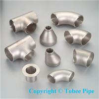 Buy cheap Steel welding pipe fitting-elbow,Tee,Reducer from wholesalers